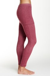 Magid Skirt Overlay Legging Purple