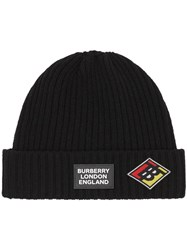 Burberry Graphic Logo Patch Beanie 60