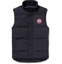 Canada Goose Garson Quilted Shell Down Gilet Navy