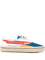 Lanvin Flags Espadrille Style Sneakers 60