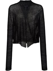 Eileen Fisher V Neck Blouse Black