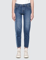 Calvin Klein Jeans Straight Ankle With Light Vert