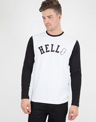 Edwin Hello Long Sleeved T Shirt Multi