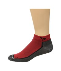 Drymax Sport Lite Trail Running Mini Crew 3 Pack Ellite Red Black Crew Cut Socks Shoes