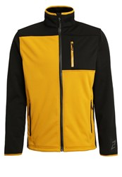 Your Turn Active Soft Shell Jacket Arrow Wood Dark Yellow