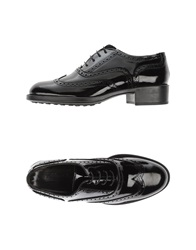 Alberto Moretti Lace Up Shoes Black