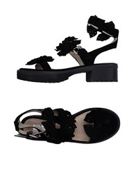 Chloe Sevigny For Opening Ceremony Footwear Sandals Women Black