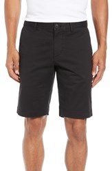 Lacoste Big And Tall Slim Fit Stretch Cotton Shorts Black