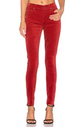 Citizens Of Humanity Rocket High Rise Skinny Red