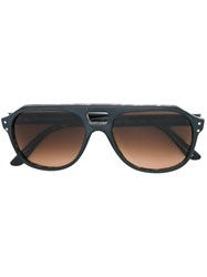 Oliver Goldsmith 'Glyn' Sunglasses Brown