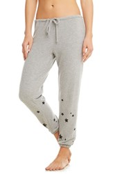 Chaser Love Knit Sweatpants Heather Grey