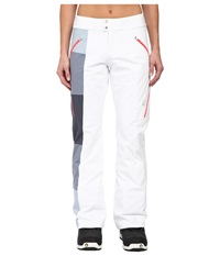 Spyder Temerity Athletic Fit Pants White Depth Bryte Pink Women's Outerwear