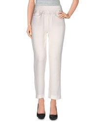 Ann Demeulemeester Trousers Casual Trousers Women White
