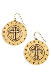 Virgins Saints And Angels Mother Goddess Apogee Earrings Gold