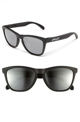 Oakley 57Mm Polarized Sunglasses Matte Black Iridium Polarized