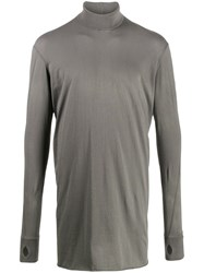 11 By Boris Bidjan Saberi Long Sleeve T Shirt Grey