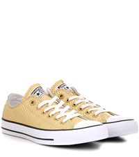 Converse Chuck Taylor All Stars Leather Sneakers Gold
