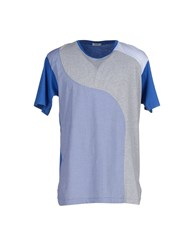 Imperial Star Imperial Topwear T Shirts Men Blue