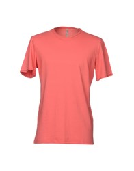Tanomu Ask Me T Shirts Coral