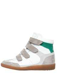 Isabel Marant Etoile 40Mm Bilsy Leather Sneakers
