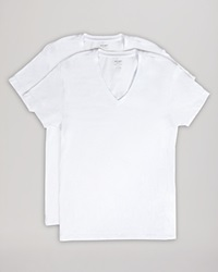2Xist 2 X Ist Stretch Cotton V Neck Tee Pack Of 2