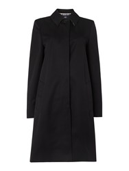 Aquascutum London Dulwich Raincoat Black