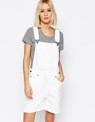 Dr. Denim Dr Denim Tanya Overall Shorts White