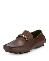 Kenneth Cole Perfect Type Horsebit Leather Loafer Brown