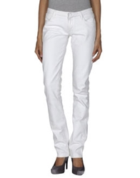 Ring Denim Pants White