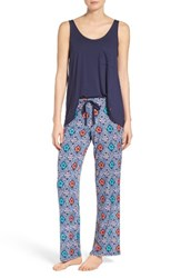 Josie Women's Mesmerized Pajamas Navy Cream
