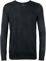 Avant Toi Crew Neck Sweater Black