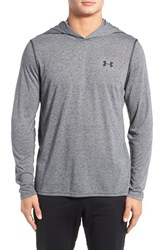 Under Armour Men's Threadborne Hoodie 002 Black Black