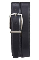 Torino Belts Men's Big And Tall Reversible Leather Belt Black Brown