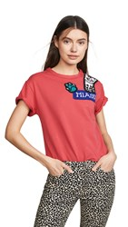 Michaela Buerger Combo T Shirt Coral Multi
