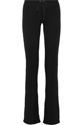 Splendid Stretch Cady Wide Leg Pants Black