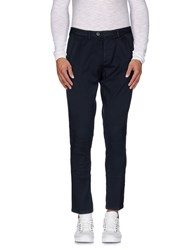 Takeshy Kurosawa Trousers Casual Trousers Men Dark Blue