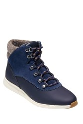 Cole Haan Zerogrand Waterproof Hiking Boot Marine Blu