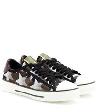 Valentino Starstudded Sneakers Multicoloured