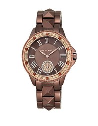 Vince Camuto Swarovski Crystal Accented Stainless Steel Watch