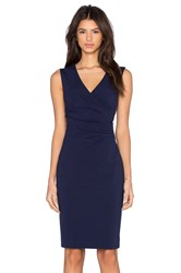 Diane Von Furstenberg Layne Dress Navy