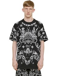 Givenchy Columbian Fit Tattoo Jersey T Shirt