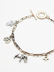 Free People Delicate Charm Anklet By