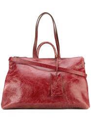 Marsell Large 'Gluc' Tote Bag Red
