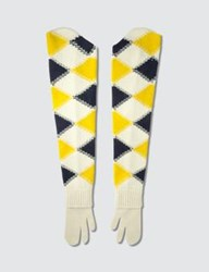 Maison Martin Margiela Long Split Finger Gloves