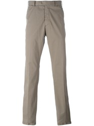 Armani Collezioni Slim Fit Chinos Nude And Neutrals