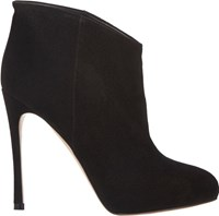Gianvito Rossi Hidden Platform Ankle Boots Black