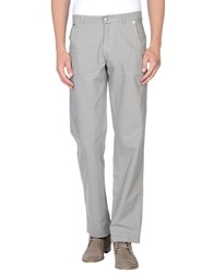 Trussardi Jeans Trousers Casual Trousers Men Grey