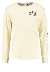Deus Ex Machina Coil Long Sleeved Top Offwhite Off White