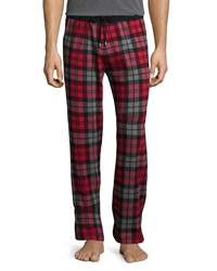 Ugg Thomas Scarlet Plaid Lounge Pants Red