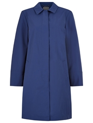 Windsmoor Pleat Back Mac Coat Mid Blue